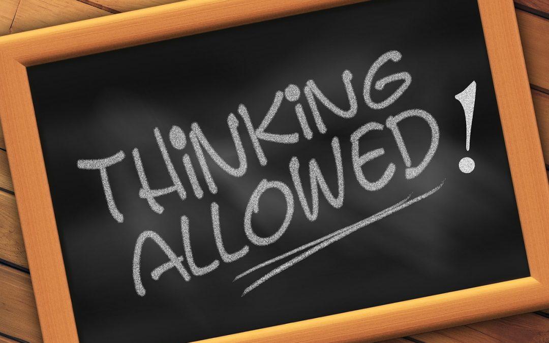 Gedanken denken – Gedanken lenken