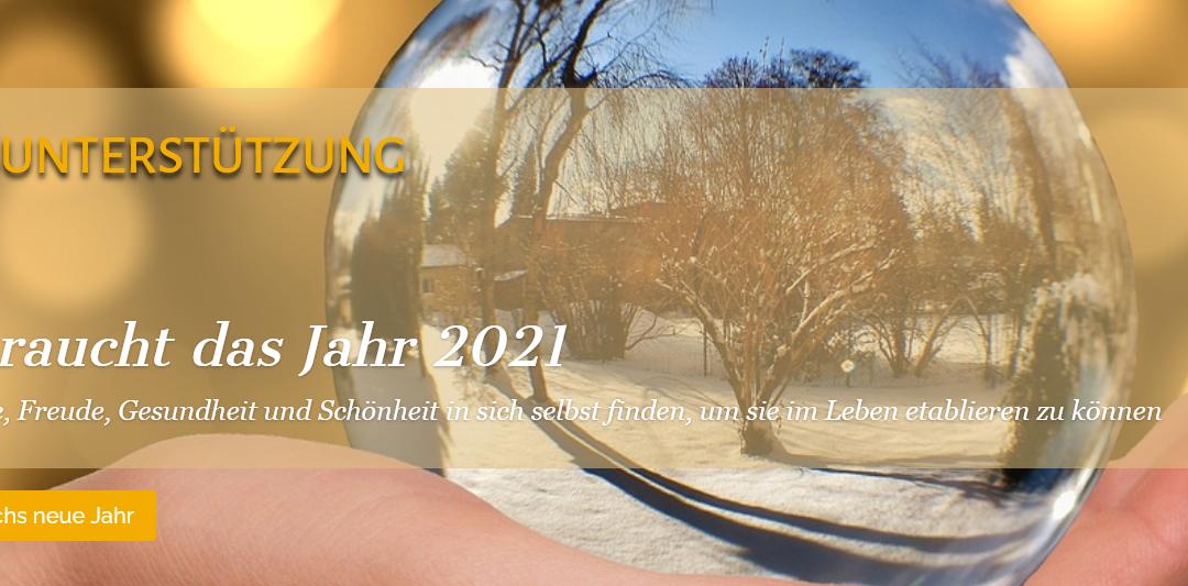 Jahresunterstützung – neue Impulse für das Jahr 2021